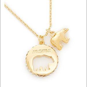 Kate Spade mama bear pendant necklace